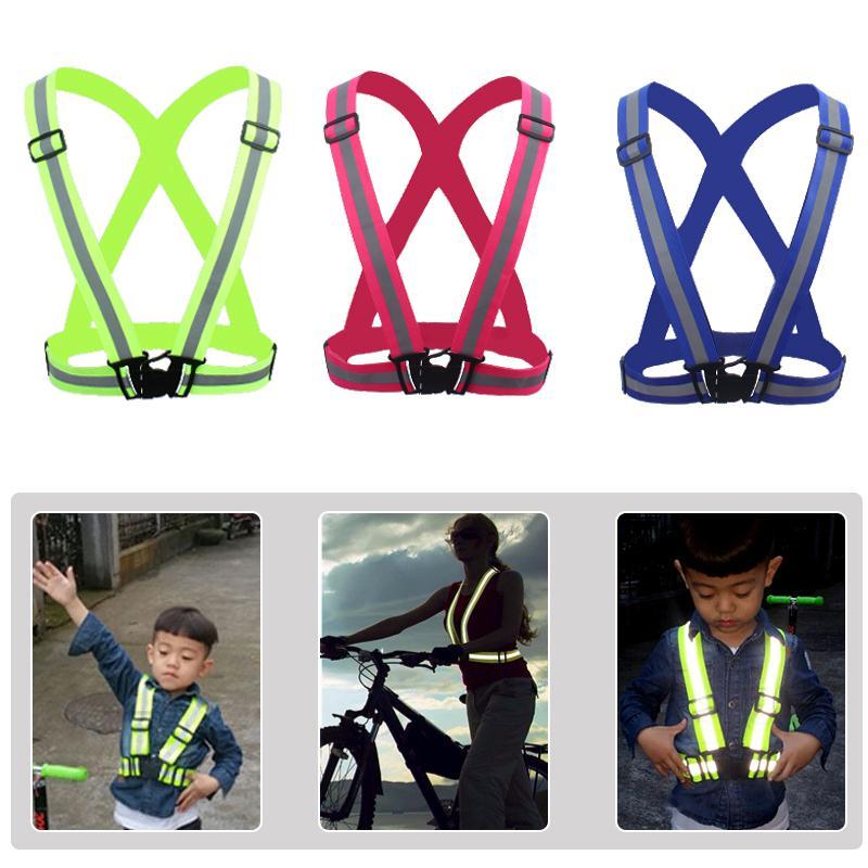 Sport Kinderen Verstelbare veiligheid Zichtbaarheid Reflecterende - Kinderkleding