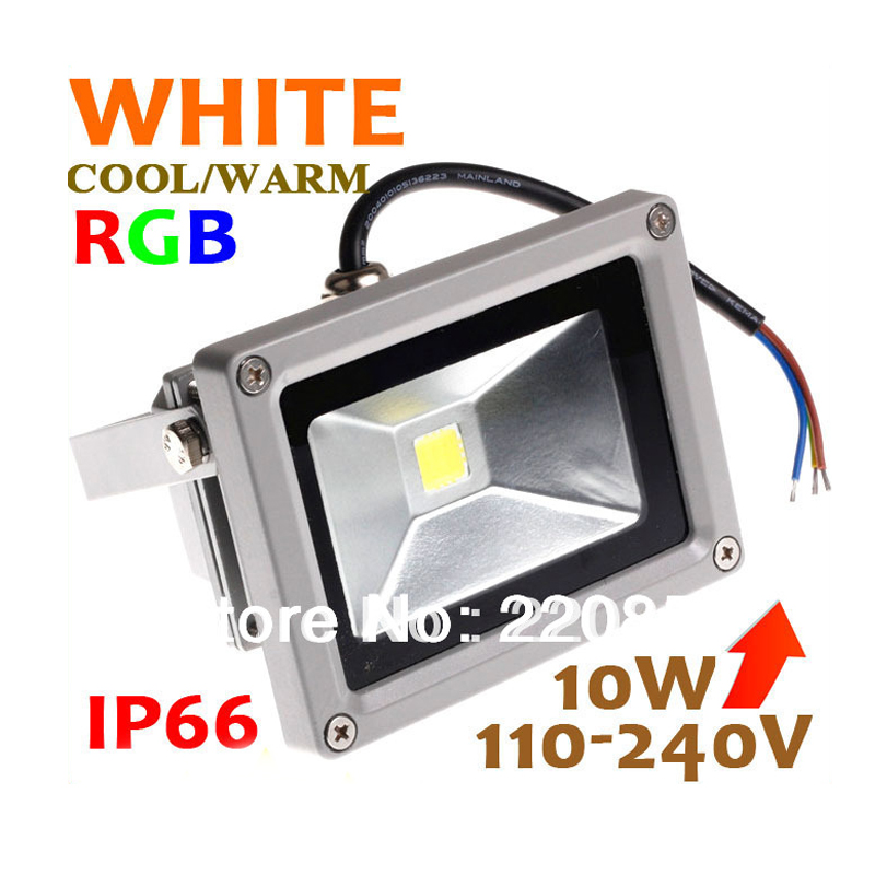 Led Flood Light Ip65 Waterproof 10w/20w/30w/50w Rgb/warm White/cool White Floodlights Outdoor Lamp Lighting Free Shipping A Complete Range Of Specifications Floodlights