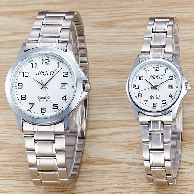 Sports Series Of High-end Leisure Couples Watches Simple Models Daily Water Resi