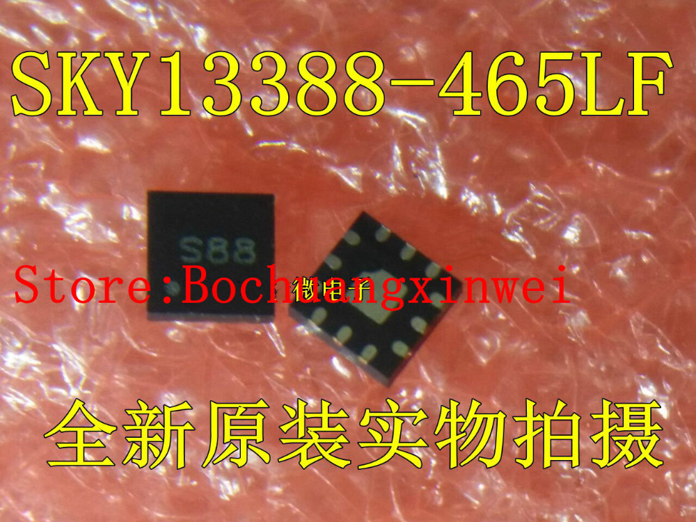 Free Shipping SKY13388-465LF SKY13388 S88 SMD 0.1 to 2.7 GHz SP4T Switch with Integrated Logic Decoder QFN-12