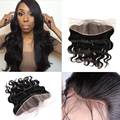 Hot Beauty Hair Pre Plucked Lace Frontal Peruvian Virgin Hair Body Wave 13x4  Ear to Ear Lace Frontal With Baby Hair