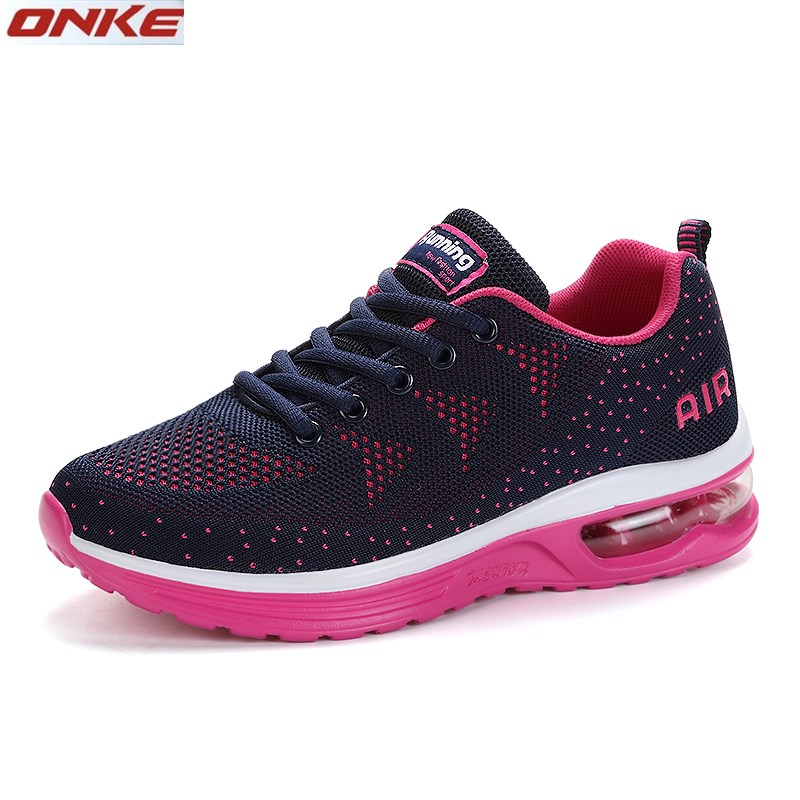 2017ONKE brand running shoes woman breathable female