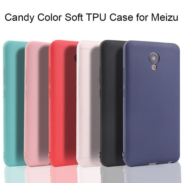 Meizu 15 Lite Candy Case for Meizu Pro 5 6 7 E2 E3 MX6 Case for Meizu M5S M5C M6T M6S M5 M6 Note 8 Case on Meizu 16 Plus V8 X8