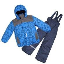 Moomin Conjunto de invierno impermeable para niños, ropa interior de lana cálida, prendas de vestir, mono de nieve, novedad de 2019