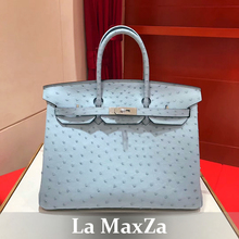 Africa ostrich skin luxury brand runway women tote handbag ,100%handmade top quality
