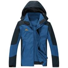 Big size 2 in 1 Men's Warm Windbreaker Plus Size 9XL 8XL 7XL 6XL 5XL Man Outdoors Hooded Fleece Jackets For Deep Winter -30  fre