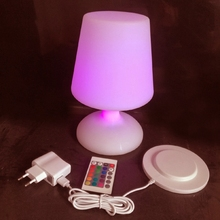 SK-LF06C RGB IP65 Rechargeable Led illuminated Table Lamp Night Light Cube Chair for Club Bar KTV Pub Hotel Party Event 1pc