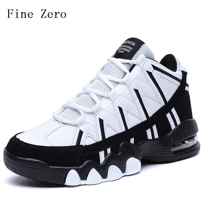 sito affidabile 3b6ab 1421a US $22.14 46% di SCONTO|Fine A Zero 2019 Da Ginnastica di colore della  miscela di ammortizzazione uomini scarpe Da Basket scarpe sportive di Alta  ...