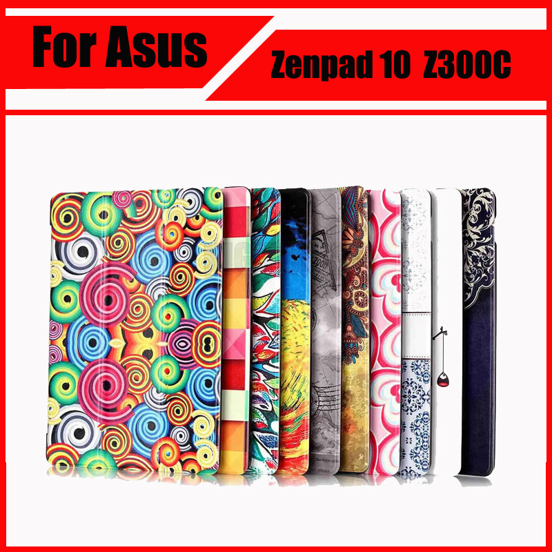 Magnetic Stand pu leather Case For Asus Zenpad 10 Z300CL Z300CG Z300C Z300 Z300CNL 10.1