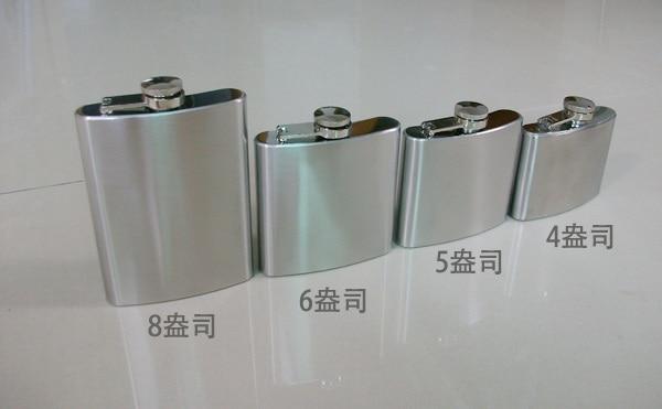 2pc Portable Stainless Steel 6oz Hip Flask Flagon Whiskey Wine Pot Bottle Gift Hip Flask 6oz Hip Flaskflask Gift Aliexpress