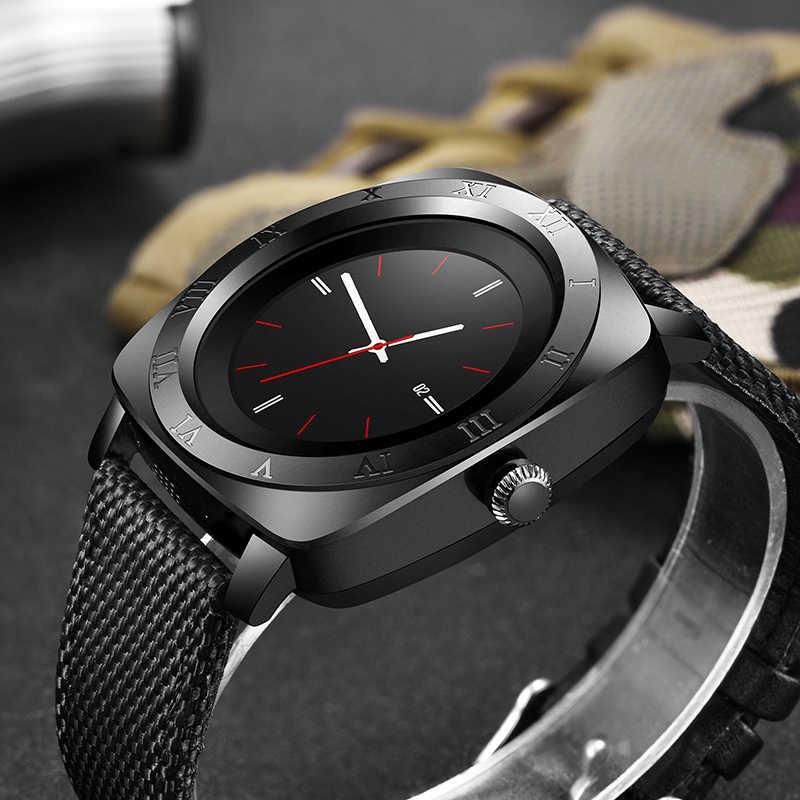 LIGE Mới Thông Minh Bluetooth Hồ Nam Dây Màn Hình Cảm Ứng Lớn Pin Hỗ Trợ Thẻ SIM TF Camera Cho Điện Thoại Android Smartwatch Reloj hombre