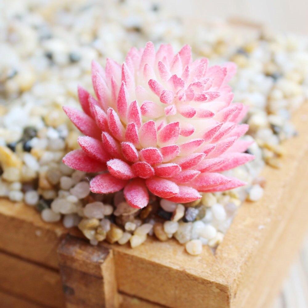 Artificial flower Succulent Real Touch Landscape Plants Grass Decorative Artificial Plant Garden Arrangement Christmas DecorHome