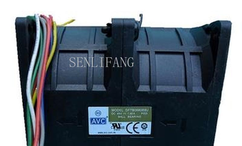 For ORIGINAL AVC 8080 48v 1.50a DFTB0880B8U 8CM Modified Car Cooling Fan