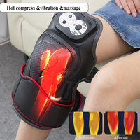 Electric Knee Massage Rehabilitation Equipment Magnetic Vibration Heating Massager Knee Joint Physiotherapy Device Pain Relief