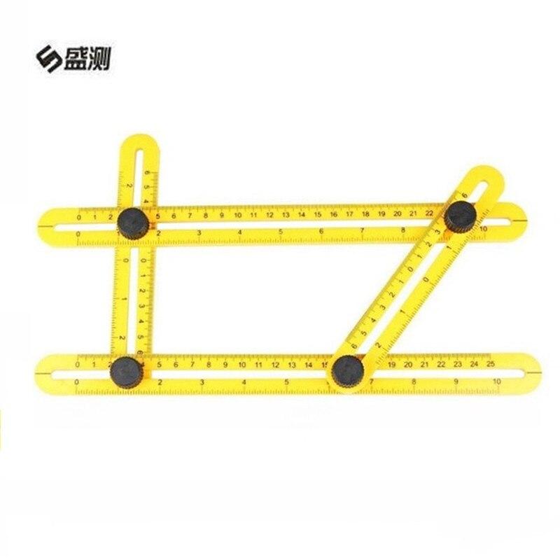 font b Measuring b font font b Instrument b font Adjustable Magic Angle Ruler Angle