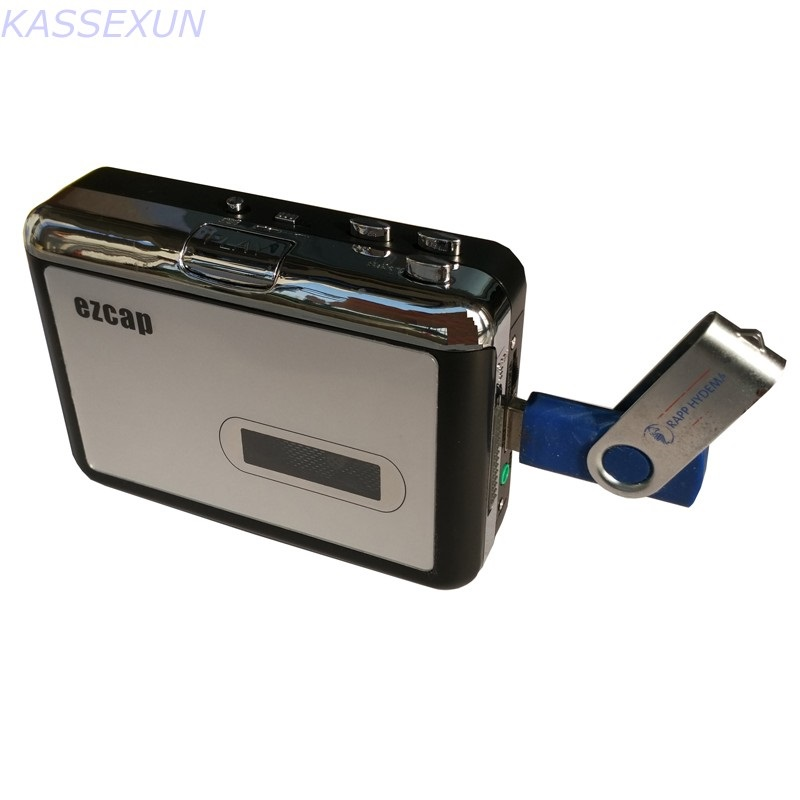 2017 new tape cassette recorder, convert tape cassette to mp3 in USB Flash Disk, no pc required, Playback, Free shipping