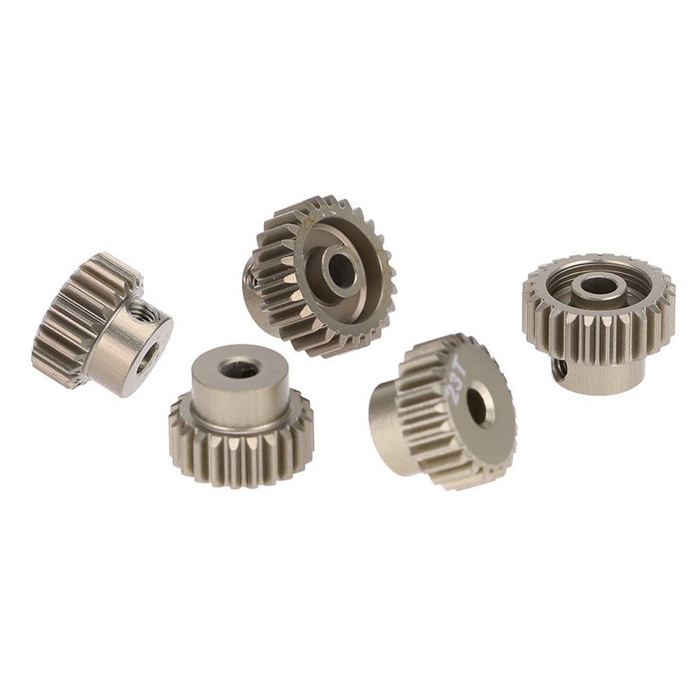 48DP 21T 22T 23T 24T 25T Pinion Motor Gear Combo Set for 1/10 RC Car Brushed Brushless Motor 1pcs universal metal walkera motor pinion gear puller remover w010 for rc helicopter