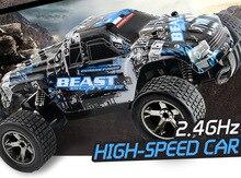 RC автомобиль 2,4 г 4CH рок сканеры вождение автомобиля привод Bigfoot автомобиль пульт дистанционного управления автомобиля скорость модель внедорожный автомобиль игрушка traxxas rc drift