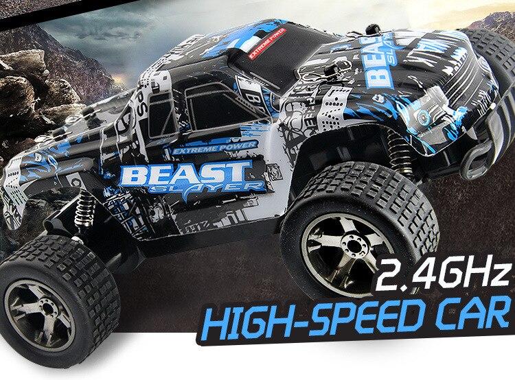 RC coche 2,4g 4CH Rock Crawlers conducción coche Drive Bigfoot coche de Control remoto modelo de velocidad OffRoad Vehículo de juguete traxxas rc deriva