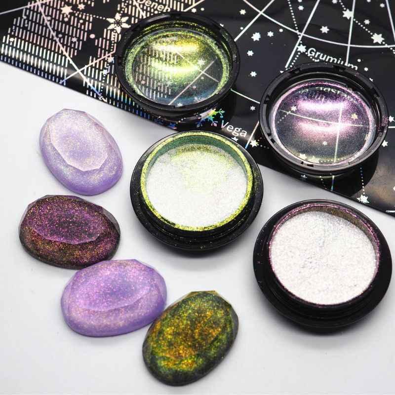 マジック樹脂染料中断 AB 効果粉末マイカ真珠顔料樹脂ジュエリー DIY