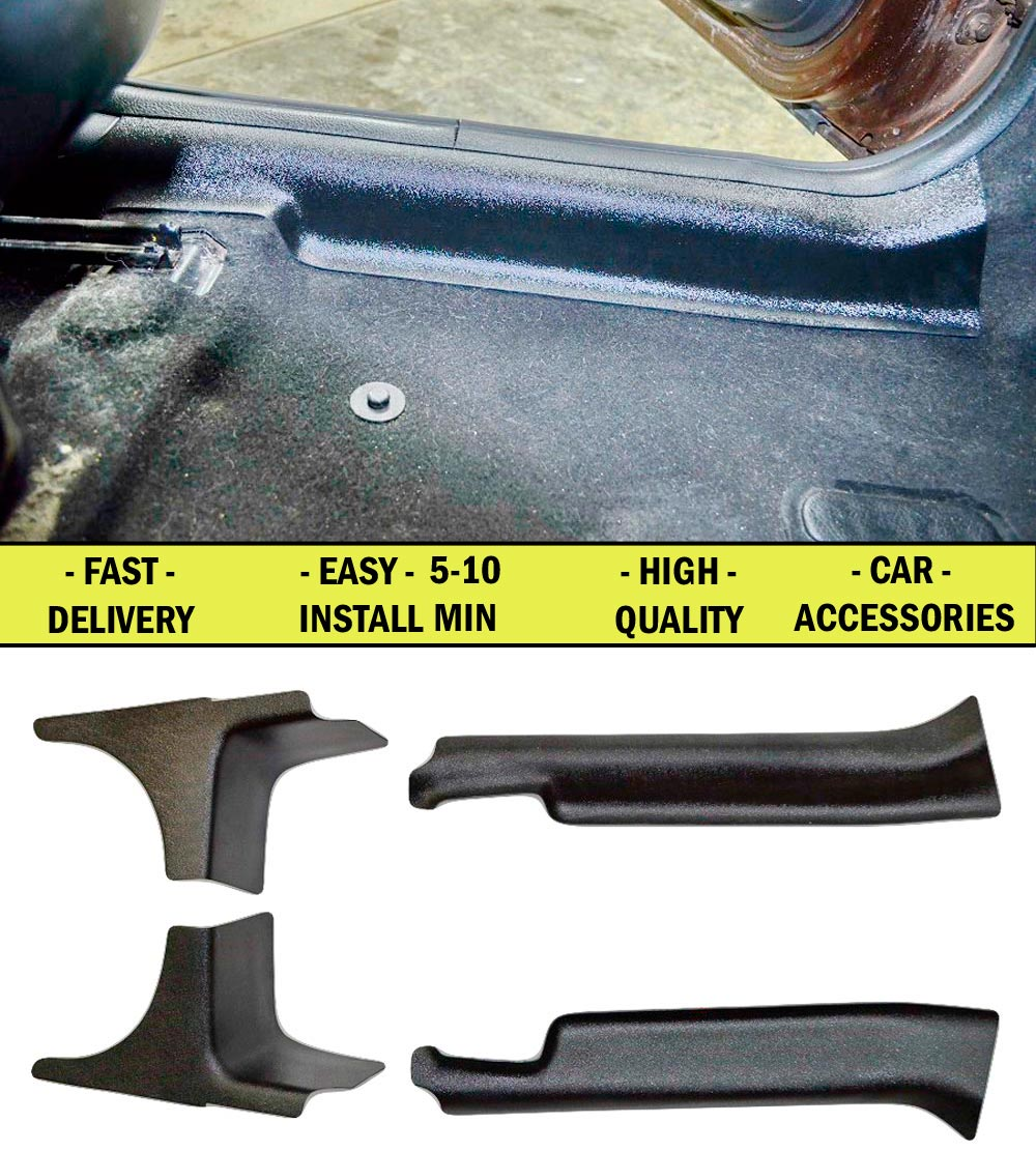 Pad door inside carpet for Renault Duster 2010-2014 4 pcs ABS plastic Door sill protection of dirt accessories Car Styling