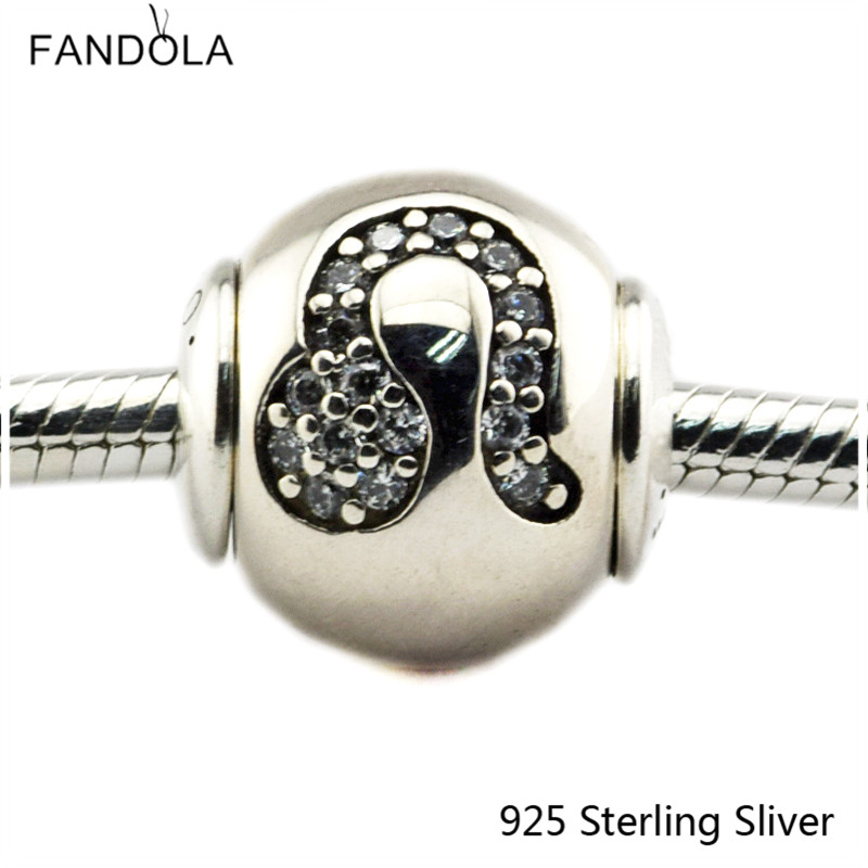 2.5MM Leo Star Sign Silver Charms Authenic 925 Sterling Silver Fit Bracelet Jewelry DIY Bead for Women Jewelry Making Gift