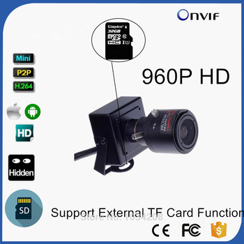 2.8-12mm Manual Zoom Lens 1.3MP 960P Support SD & TF Card Slot 960P Mini IP Camera P2P Onvif Home Indoor Security CCTV