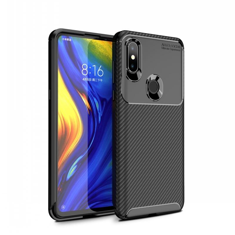 Case For Xiaomi Mi 9 Mi 8 Pro Mi 8SE Mi 8 Lite Cover Carbon Fiber Silicone TPU Case For Xiaomi Pocophone F1 Poco F1 Cover Fundas (14)
