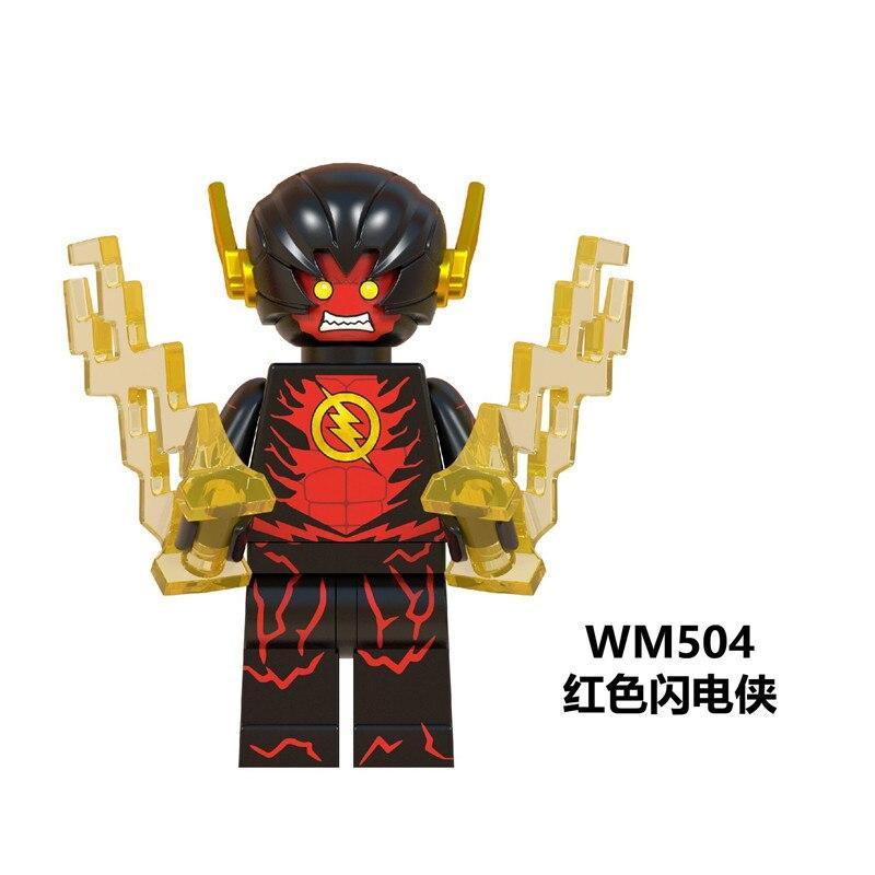Single sale super hero dc the flash reverse flash figures legoings juguetes building blocks toys - Flash le super heros ...