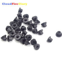 CloudFireGlory For BMW E30 E32 Benz Exterior Plastic Body Nut Flange Clips 16131176747