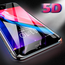 JONSNOW 5D Full Cover Edge Screen Protector for iPhone X 6 6S 7 8 Plus Tempered Glass for iPhone XS XR XS MAX Protective Film цена