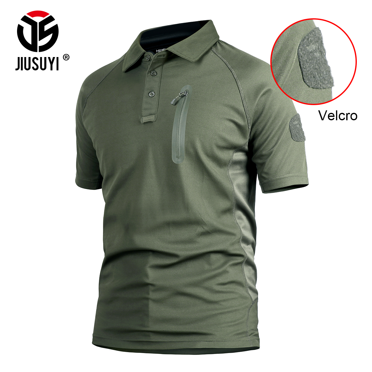 Tactical T Shirt for Men Military Army Summer Quick Dry Camouflage Green Clothes with Pocket Paintball Short Sleeve Breathable