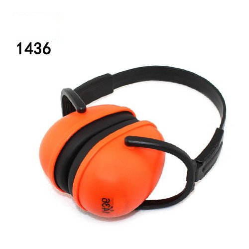1436 Foldable Noise noise reduction ear protection earmuffs sleep study mute the headphones sound industrial plants industrial noise soundproof earmuffs sleep study noise muffler labor protection shot silence