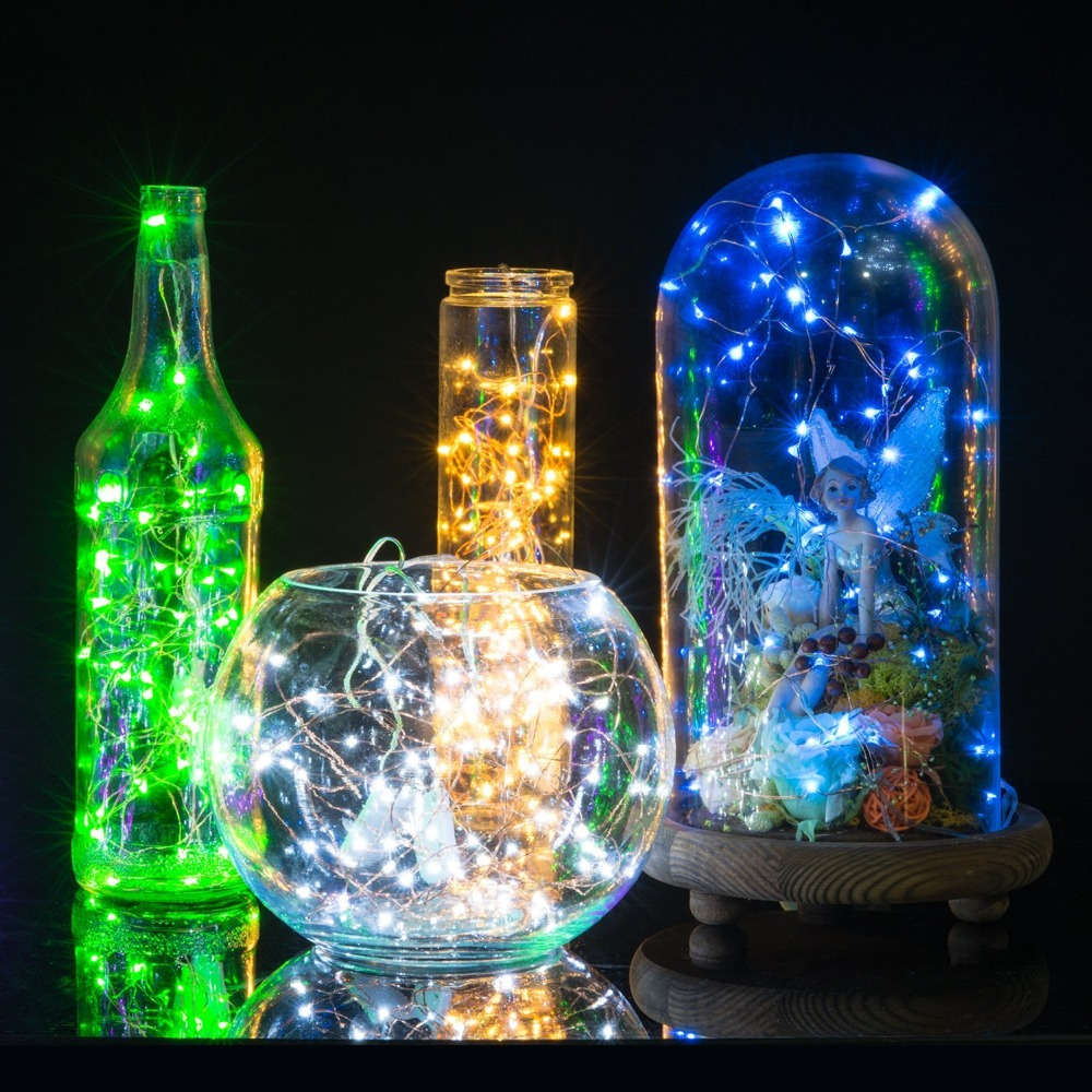 Ziemlich Sternenlicht Führte Draht Lichterketten Fotos - Elektrische ...