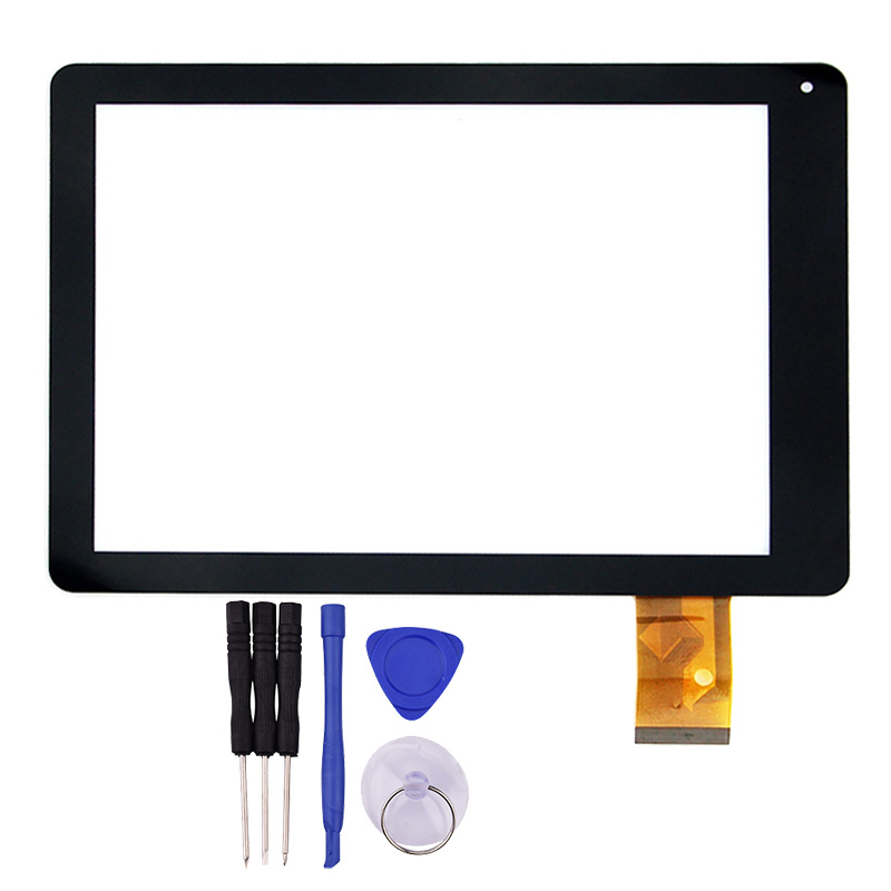 New 9.7 Inch Touch Screen Replacement for Digma iDs10 3G Tablet PC MT97011-V0 Digitizer Glass Panel black new 10 1 inch touch panel digitizer for digma plane 1601 3g ps1060mg tablet pc touch screen digitizer panel repair parts