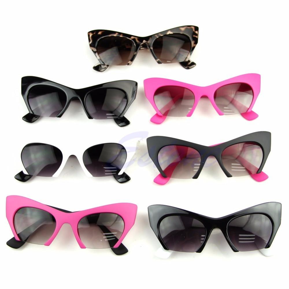 LvDing  Retro Olho de Gato Mulheres óculos de Sol Designer De Vintage  Clássico Óculos de Tons Da Moda 0b80ee27f0
