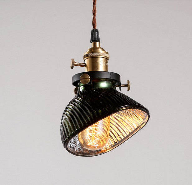American Loft Style Glass Droplight Edison Vintage Pendant Light Fixtures For Dining Room Hanging Lamp Indoor Lighting Lamparas american country umbrella pendant lights fixture modern vintage glass single droplight home indoor dining room lighting d25cm
