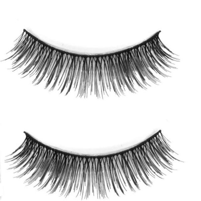 5 Pair Professional Black Natural Look False Eyelashes Voluminous