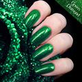Green Emerald Hybrid Gel Nail Polish High Quality Long-lasting Soak Off  LED Manicure Beauty DIY Nail Art Tools 12colors 12ml