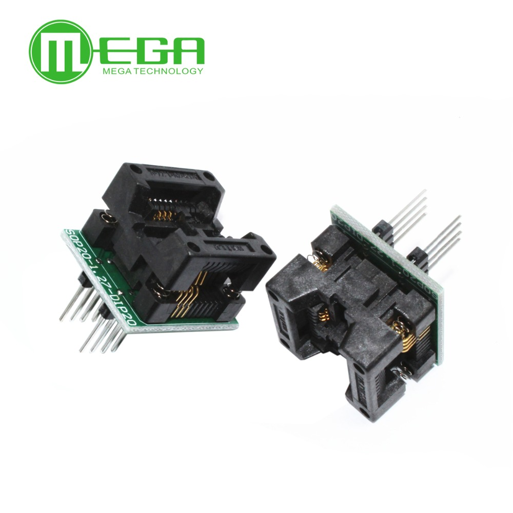 SO8 SOP8 to DIP8 Programmer adapter Socket Converter for Wide 200mil