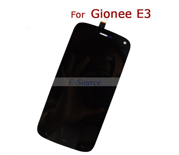 HOT !!!100% Test Work New LCD Display + Touch Screen Digitizer For Gionee E3 FLY IQ4410 Mobile LCD Assembly
