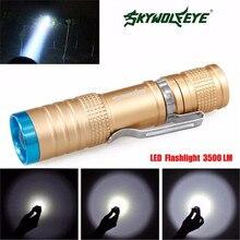 Супер 3500 Люмен 3 Режима CREE XML LED Фонарик Факел Лампы Свет Открытый
