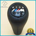 New Car Styling 5 Speed 6 Speed Gear Stick Shift Knob Handle for BMW 3 5 7 Serie M E36 E46 E34 E38 M3 M Sport Emblem Logo