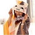 Hot sale 1pc 150cm creative sweet anime cat home plush rest blanket cloak shawl coral fleece warm children girl birthday gift