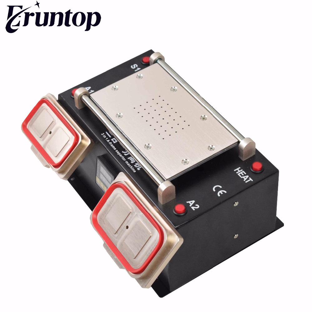 3 in 1 for Samsung LCD Refurbish  Preheater Station / Bezel Middle Frame Separator Machine / Vacuum Pump LCD Separator 3 in 1 multifunction preheater station middle bezel frame separator machine vacuum screen separator machine