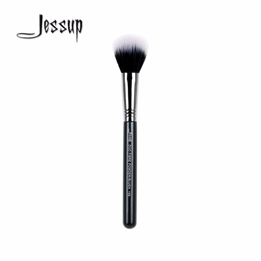 все цены на Jessup brushes 1pcs Professional Face Makeup Brushes Single Brushes Tapered Face Powder Highlighter