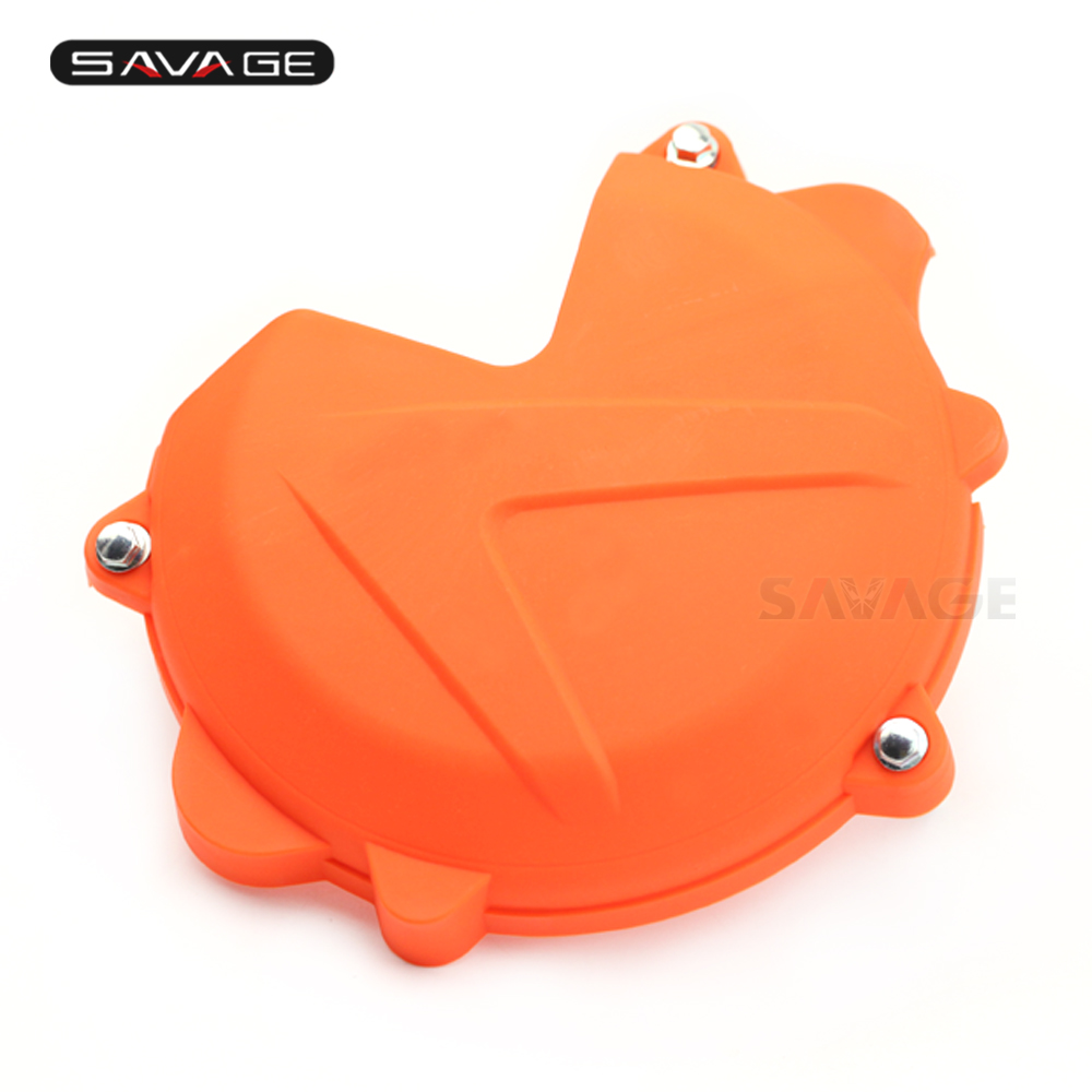 Engine Clutch Case Cover Guard For KTM 250 EXC SX XC XC-W FPEERIDE 350 EXC XC XC-W Motorcycle Accessories Left Protector цена