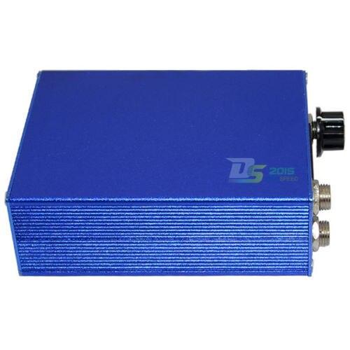 Blue EU Plug LCD Mini Digital Tattoo Power Source Light Weight Cigarette Box Design For Gun Machine With Cord Kit Supplies