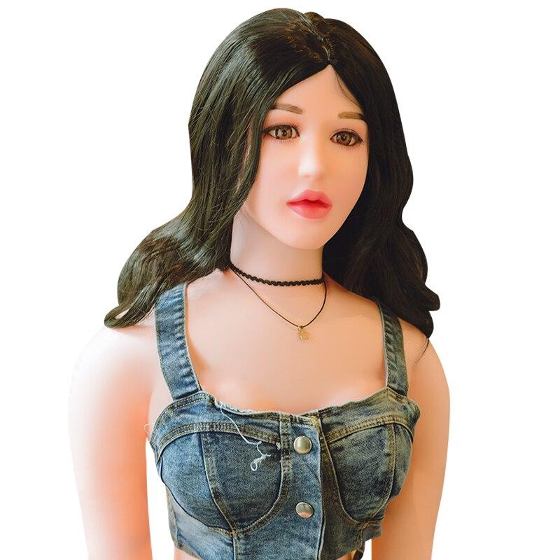 160 cm Sit/Stand jouets de poupée gonflables poupée de sexe réaliste pour les hommes exploser masturbateur amour poupées jouets
