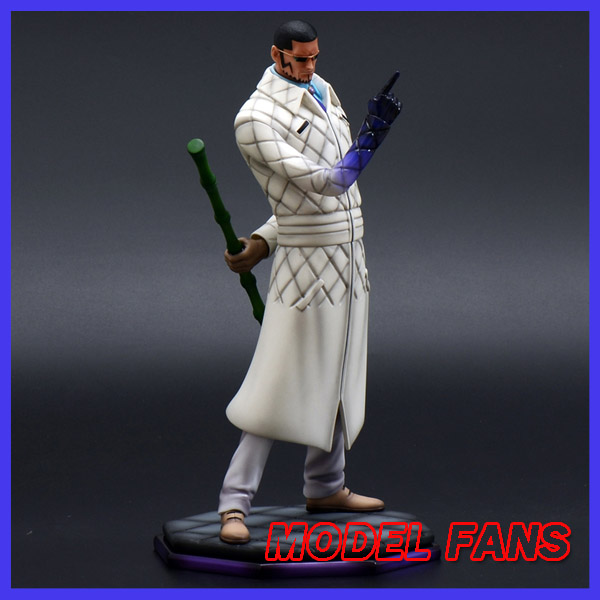 MODEL FANS IN-STOCK foc one piece pop scale 27cm Vergo gk resin statue figure for collection